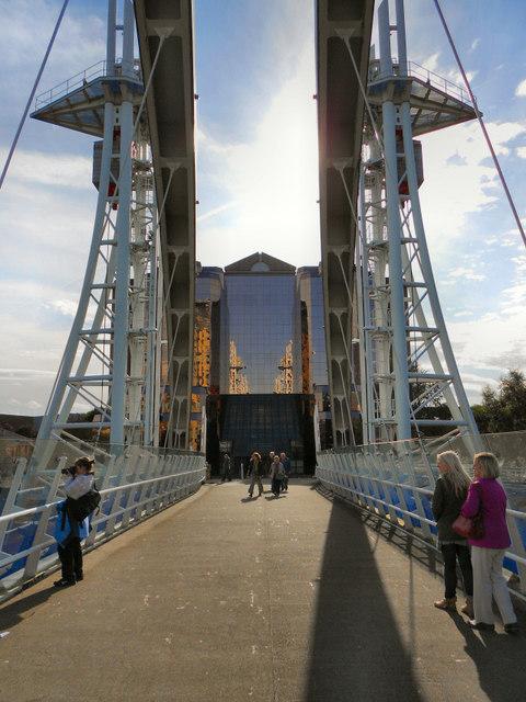 Lowry Bridge and Quay West