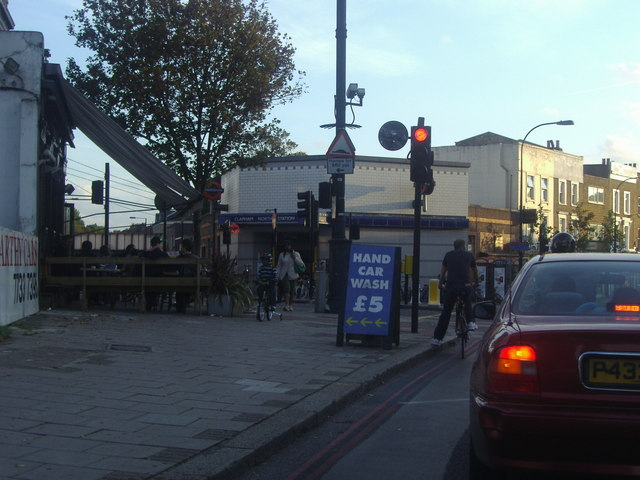 Junction of Clapham Road and Cavendish Road