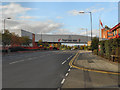 SJ7895 : Kellogg's Walkway, Trafford Park by David Dixon