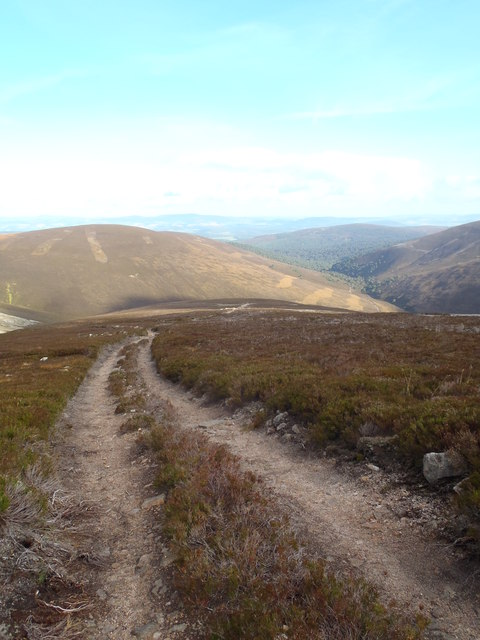 Track leading to Cock Cairn
