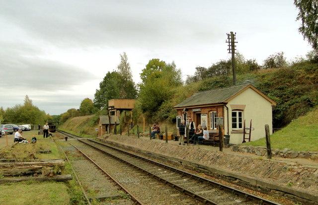 Eardington Station Severn Valley 169 Philip Pankhurst
