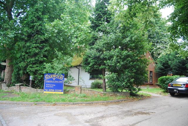 Entrance to Harwood Hall