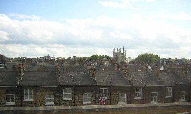 Battersea rooftops
