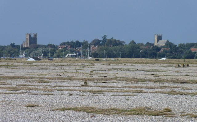 Orford as seen from the lighthouse