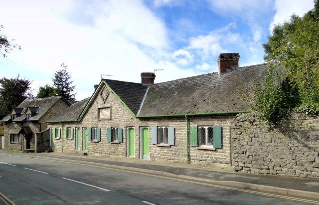 Harley Almshouse, Hay-on-Wye