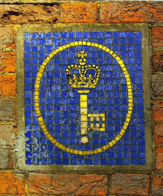 Post Office Savings Bank logo in mosaic