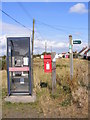 TM3642 : Telephone Box & Shingle Street Postbox by Adrian Cable