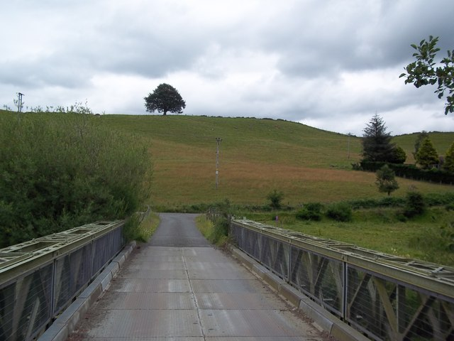 View to the east across Barnhill Bridge