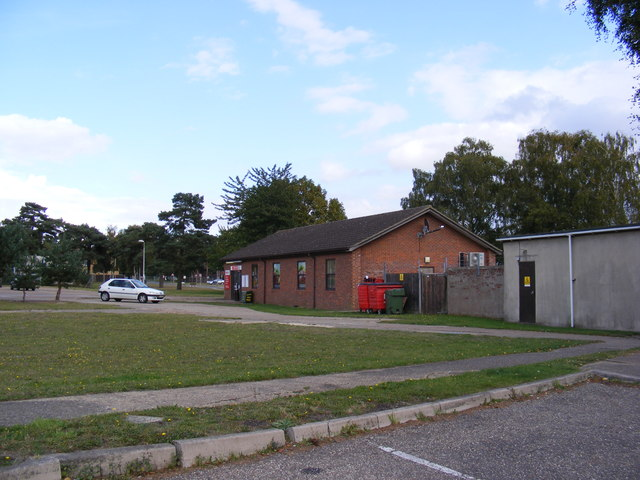 Spar shop on RAF Woodbridge Camp