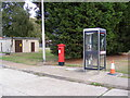 TM3247 : Telephone Box & RAF Camp Postbox by Adrian Cable