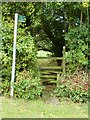 SP7725 : Stile - Public Footpath by Mr Biz