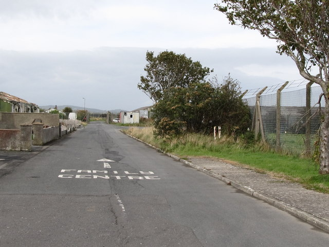 Former service road at Ringawaddy