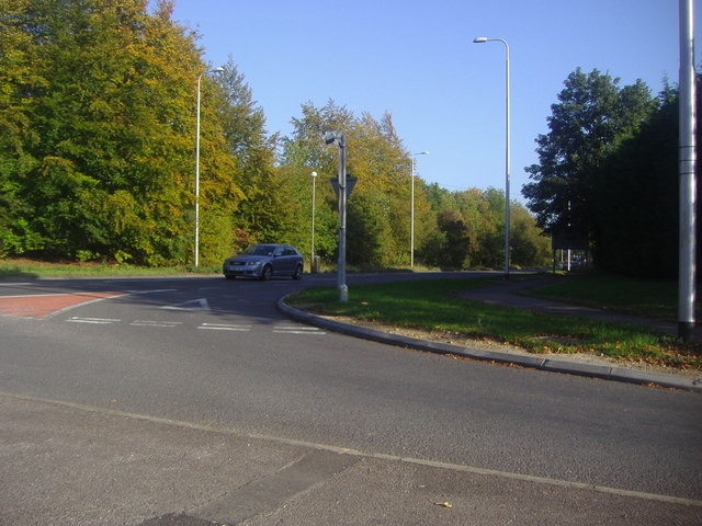 Junction of London Road and the A5, Markyate
