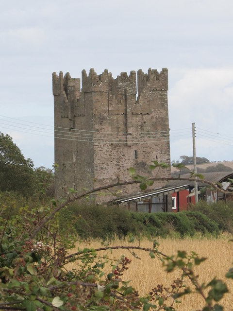 Kilclief Castle from the south