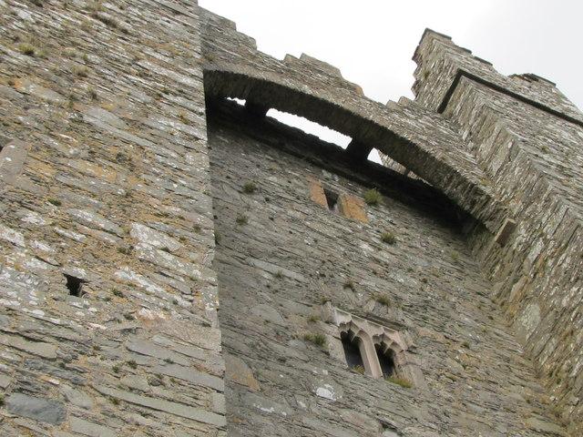 The Machicolation Of Kilclief Castle 169 Eric Jones Cc By Sa