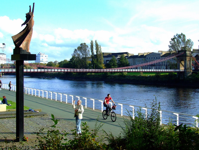Glasgow river scene
