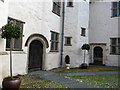 SH7877 : The Upper Courtyard, Plas Mawr by Phil Champion