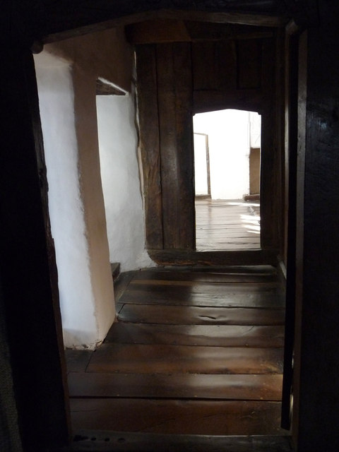 Corridor near the Chamber above the Brewhouse, Plas Mawr