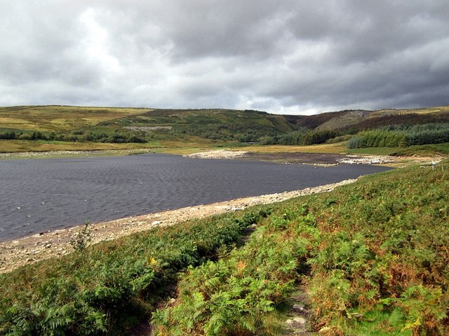 North-west end of Grimwith Reservoir