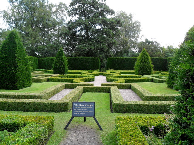 The Knot Garden, Little Moreton Hall, Cheshire