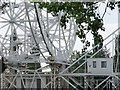 SJ7971 : Structure holding radio telescope, Jodrell Bank, Cheshire by nick macneill