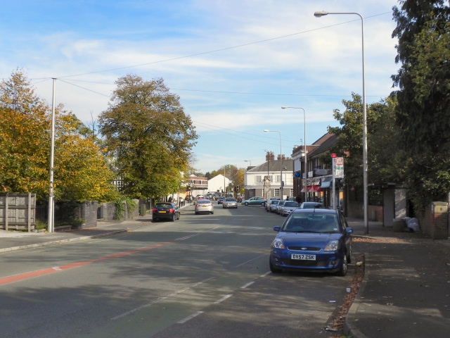 Northenden Road, Gatley