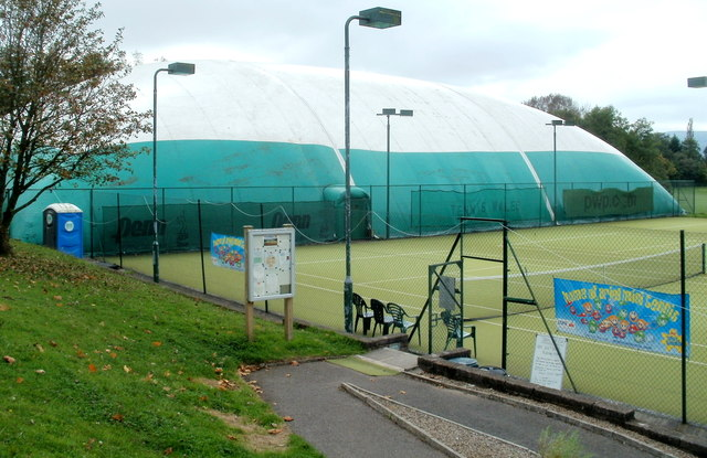 All-weather dome and tennis courts, Cwmbran Tennis Club