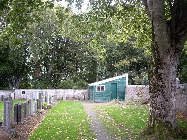 Gardener's shed, Huntly Cemetery