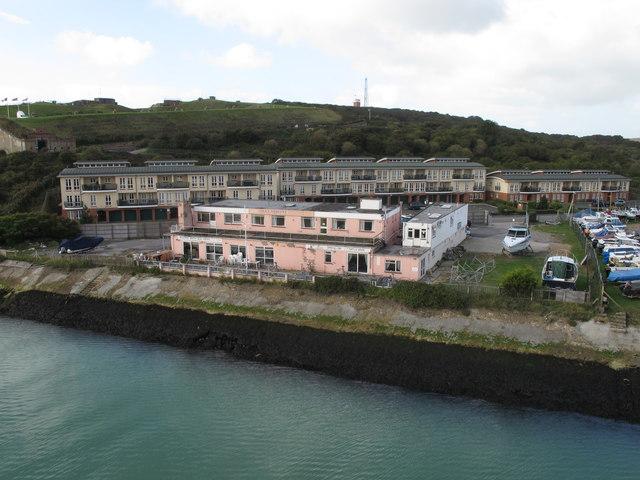 Villa Adriana hotel restaurant, Newhaven Harbour