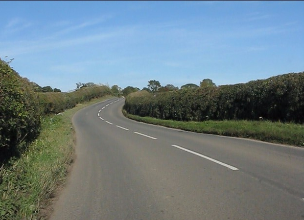 Winding toward Shobdon