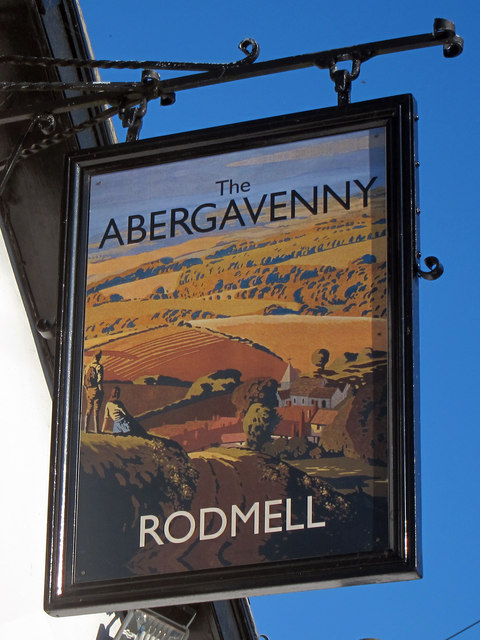 The Abergavenny sign