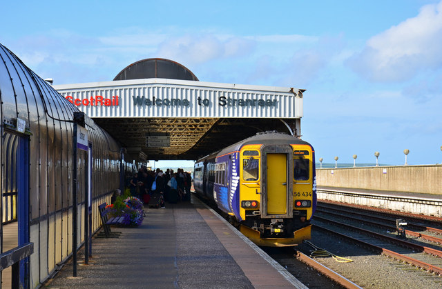 Stranraer Harbour station