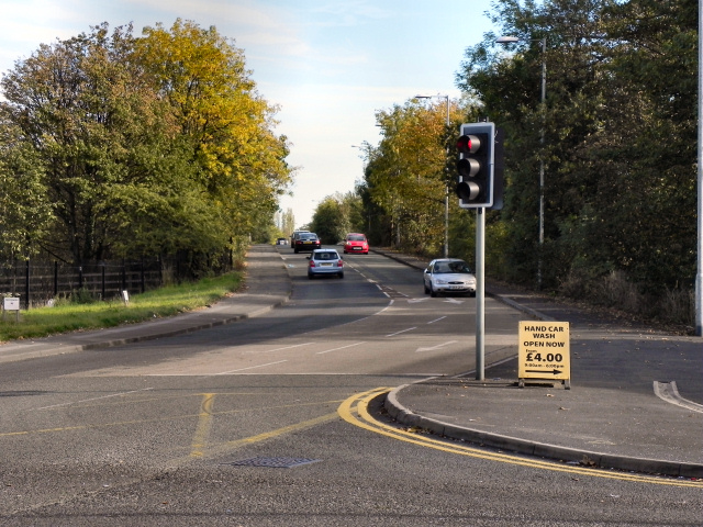 Longley Lane (B5166), Sharston