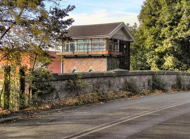 Bridge and Signal Box, Northenden Junction