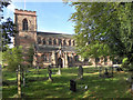 SJ8390 : St Wilfrid's Parish Church, Northenden by David Dixon