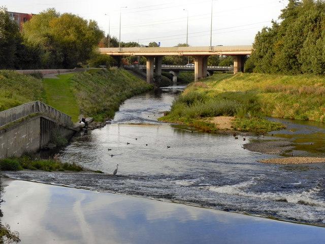 River Mersey Weir, Northenden