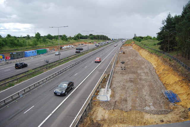 Widening the M25