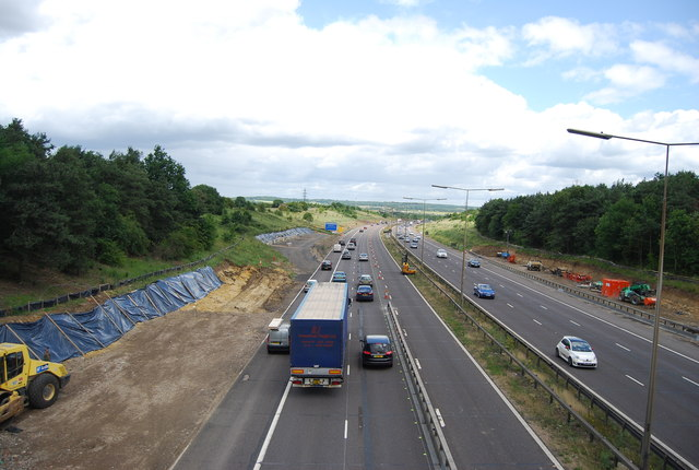 Widening the Motorway (M25)