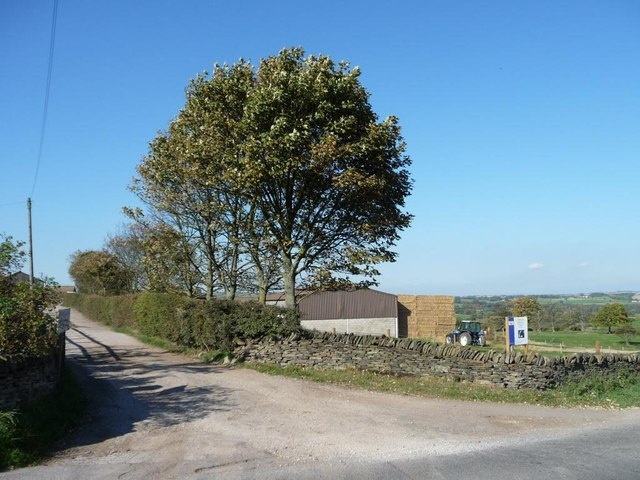 Entrance to Kidfield House Farm