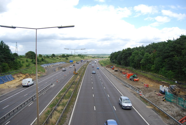 M25 near North Ockendon