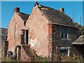 SK3278 : Old buildings at Birchinlee Farm by Neil Theasby