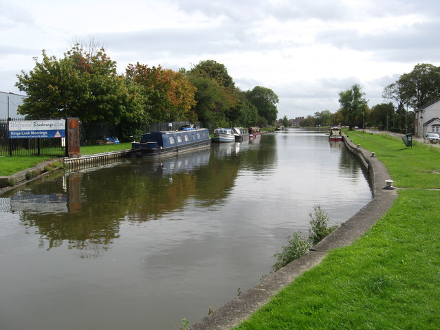 King's Lock Moorings at Middlewich