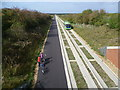 TL3768 : Guided Busway seen from Gravel Bridge by Marathon