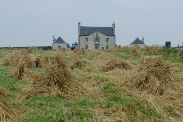 Stooks and stubble at Belmont