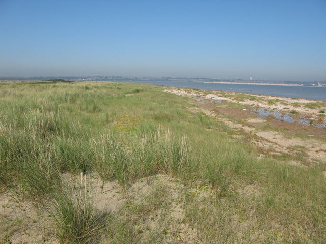 View of Sandwich Bay nature reserve