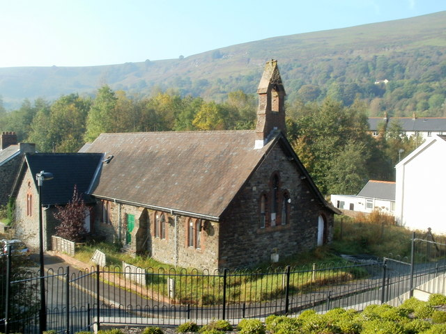 Flats in former church, Victoria, Ebbw Vale