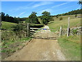 SK2568 : Bridleway at Calton Lees by Chris Heaton