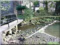 SE2208 : Footbridge over the River Dearne, Denby Dale by Humphrey Bolton