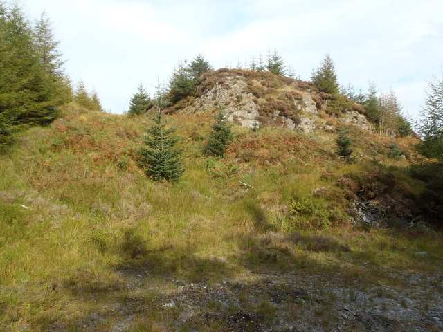 Crag below Winter Hill