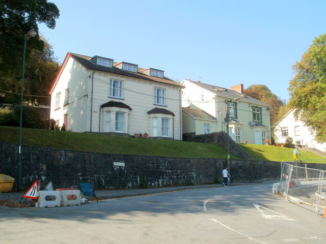 Southern end of Eureka Place, Ebbw Vale